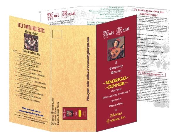 Full Color,  Tri-Folded Brochures