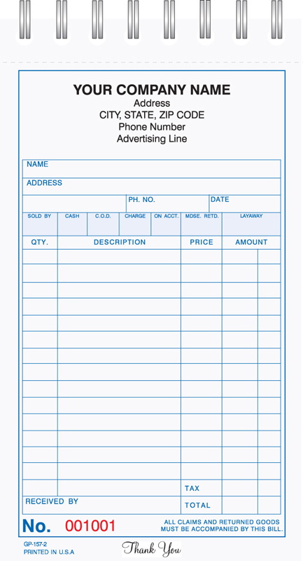 Wire Book Forms